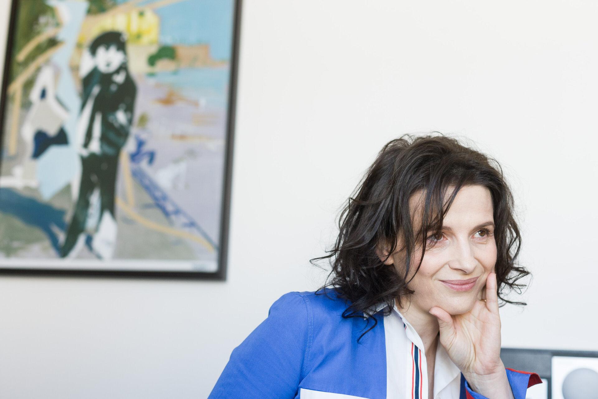 Frankreich, Frau, Künstler, Porträt, filmstar, juliette binoche, schauspielerin, star