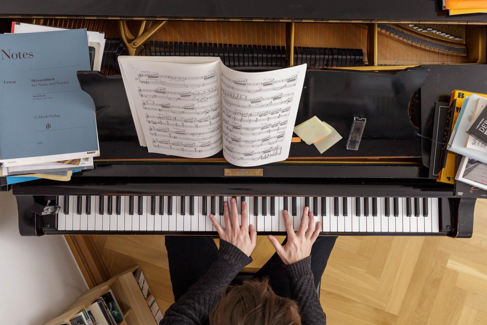 Pianist, meisterfinger, tasten