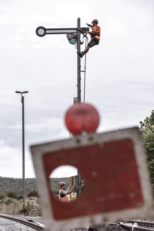 Arbeit, Bahn, Bahntechnik, FES, FES Bahntechnik, Reparatur, Reportage, Signal, image